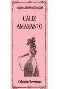 Portada de CALIZ AMARANTO
