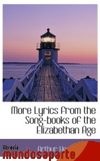 Portada de MORE LYRICS FROM THE SONG-BOOKS OF THE ELIZABETHAN AGE