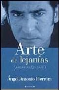 Portada de ARTE DE LEJANIAS