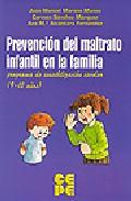 Portada de PREVENCION DEL MALTRATO INFANTIL EN LA FAMILIA: PROGRAMA DE SENSIBILIZACION ESCOLAR