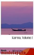 Portada de KARMA, VOLUME I