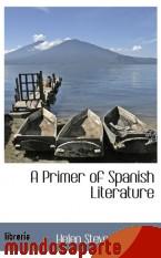 Portada de A PRIMER OF SPANISH LITERATURE
