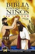 Portada de LA BIBLIA CONTADA A LOS NIÑOS