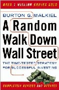 Portada de RANDOM WALK DOWN WALL STREET: THE TIME-TESTED STRATEGY FOR SUCCESSFUL INVESTING