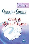 Portada de GRUPO A1  Y GRUPO I  DEL CABILDO DE GRAN CANARIA. TEMARIO PARTE COMUN. VOLUMEN II