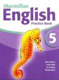 Portada de MACMILLAN ENGLISH 5 PRACTICE BOOK