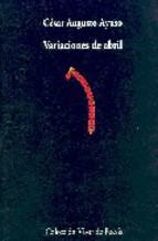Portada de VARIACIONES DE ABRIL