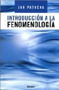 Portada de INTRODUCCION A LA FENOMENOLOGIA