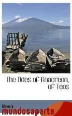 Portada de THE ODES OF ANACREON, OF TEOS