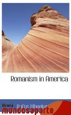 Portada de ROMANISM IN AMERICA