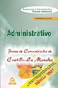 Portada de CUERPO EJECUTIVO  DE LA JUNTA DE COMUNIDADES DE CASTILLA LA MANCHA. TEMARIO VOLUMEN II ORGANIZACIÓN ADMINISTRATIV