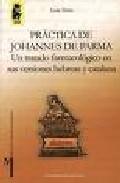 Portada de PRACTICA DE JOHANNES DE PARMA: UN TRATADO FARMACOLOGICO EN SUS VERSIONES HEBREAS Y CATALANA