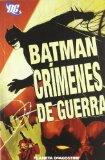 Portada de BATMAN: CRIMENES DE GUERRA