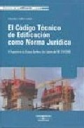 Portada de CODIGO TECNICO EDIFICACION NORMA JURIDICA