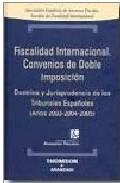 Portada de FISCALIDAD INTERNACIONAL CONVENIOS DE DOBLE IMPOSICION