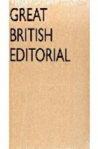 Portada de GREAT BRITISH EDITORIAL