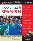 Portada de READ AND THINK SPANISH