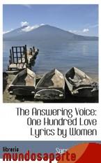 Portada de THE ANSWERING VOICE: ONE HUNDRED LOVE LYRICS BY WOMEN