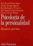 Portada de PSICOLOGIA DE LA PERSONALIDAD: MANUAL DE PRACTICAS