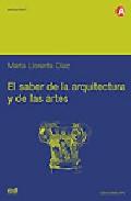 Portada de EL SABER DE LA ARQUITECTURA Y DE LAS ARTES