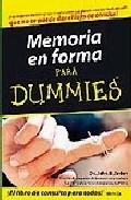 Portada de MEMORIA EN FORMA PARA DUMMIES