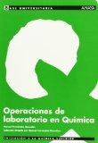 Portada de OPERACIONES DE LABORATORIO EN QUIMICA