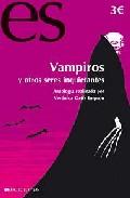 Portada de VAMPIROS Y OTROS SERES INQUIETANTES