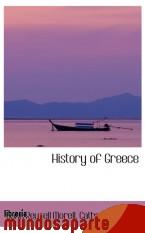 Portada de HISTORY OF GREECE