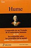 Portada de COMPENDIO DE UN TRATADO DE LA NATURALEZA HUMANA  / INVESTIG ACIONSOBRE LOS PRINCIPIOS DE LA MORAL