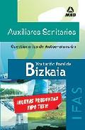 Portada de AUXILIARES SANITARIOS DE LA DIPUTACION FORAL DE BIZKAIA : C UESTIONARIOS DE AUTOEVALUACION