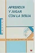 Portada de APRENDER Y JUGAR CON LA BIBLIA