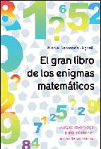 Portada de EL GRAN LIBRO DE LOS ENIGMAS MATEMATICOS