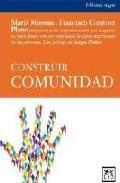 Portada de CONSTRUIR COMUNIDAD