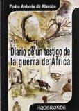 Portada de DIARIO DE UN TESTIGO DE LA GUERRA DE ÁFRICA