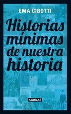 Portada de HISTORIAS MÍNIMAS DE NUESTRA HISTORIA (EBOOK)