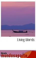 Portada de LIVING WORDS