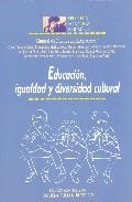 Portada de EDUCACION, IGUALDAD Y DIVERSIDAD CULTURAL