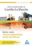 Portada de TECNICO ESPECIALISTA JARDIN DE INFANCIA. PERSONAL LABORAL DE LA JUNTA DE COMUNIDADES DE CASTILLA-LA MANCHA. VOLUMEN II