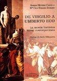 Portada de DE VIRGILIO A UMBERTO ECO: LA NOVELA HISTORICA LATINA CONTEMPORANEA