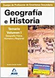 Portada de CUERPO DE PROFESORES DE ENSEÑANZA SECUNDARIA. GEOGRAFIA E HISTORIA. TEMARIO : GEOGRAFIA FISICA, HUMANA Y REGIONAL