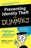 Portada de PREVENTING IDENTITY THEFT FOR DUMMIES (FOR DUMMIES (LIFESTYLES PAPERBACK))