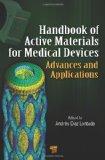 Portada de HANDBOOK OF ACTIVE MATERIALS FOR MEDICAL DEVICES: ADVANCES AND APPLICATIONS