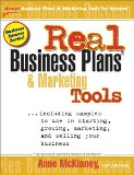 Portada de REAL BUSINESS PLANS & MARKETING TOOLS (INTRODUCING PREP'S NEW BUSINESS SUCCESS SERIES)