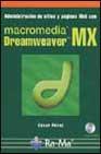 Portada de MACROMEDIA DREAMWEAVER MX