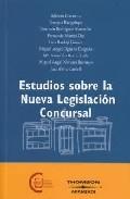 Portada de ESTUDIOS SOBRE LA NUEVA LEGISLACION CONCURSAL