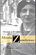 Portada de FILOSOFIA Y LITERATURA EN MARIA ZAMBRANO