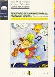 Portada de REPERTORIO DE CANCIONES PARA LA EDUCACION INFANTIL: CUADERNO DE ACTIVIDADES