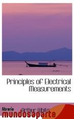 Portada de PRINCIPLES OF ELECTRICAL MEASUREMENTS
