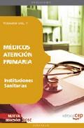 Portada de MEDICOS ATENCION PRIMARIA DE INSTITUCIONES SANITARIAS. TEMARIO VOL. V