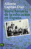 Portada de BREVE HISTORIA DE LA EDUCACION EN ESPAÑA